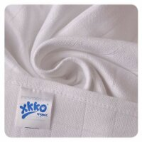 xkko - Mullwindel weiß, 80x80 cm