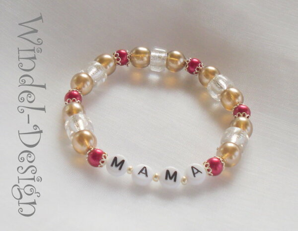 Edles Mama Armband mit Namen der Kinder