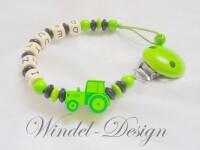 Schnullerkette Traktor im Deutz Design